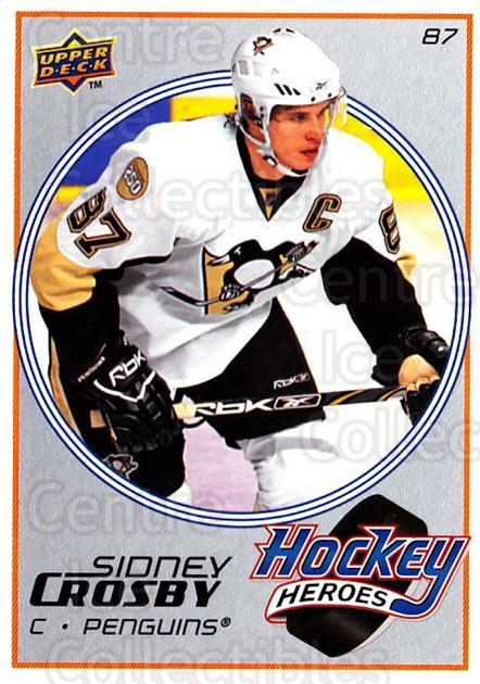 2008-09 Upper Deck Hockey Heroes Sidney Crosby #8 Sidney Crosby<br/>3 In Stock - $3.00 each - <a href=https://centericecollectibles.foxycart.com/cart?name=2008-09%20Upper%20Deck%20Hockey%20Heroes%20Sidney%20Crosby%20%238%20Sidney%20Crosby...&quantity_max=3&price=$3.00&code=239193 class=foxycart> Buy it now! </a>