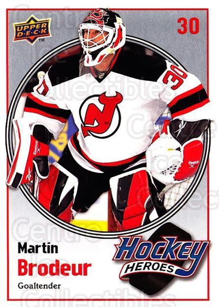 2009-10 Upper Deck Hockey Heroes Martin Brodeur #10 Martin Brodeur<br/>5 In Stock - $2.00 each - <a href=https://centericecollectibles.foxycart.com/cart?name=2009-10%20Upper%20Deck%20Hockey%20Heroes%20Martin%20Brodeur%20%2310%20Martin%20Brodeur...&quantity_max=5&price=$2.00&code=239194 class=foxycart> Buy it now! </a>
