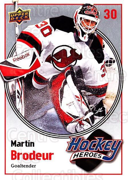 2009-10 Upper Deck Hockey Heroes Martin Brodeur #12 Martin Brodeur<br/>5 In Stock - $2.00 each - <a href=https://centericecollectibles.foxycart.com/cart?name=2009-10%20Upper%20Deck%20Hockey%20Heroes%20Martin%20Brodeur%20%2312%20Martin%20Brodeur...&quantity_max=5&price=$2.00&code=239196 class=foxycart> Buy it now! </a>