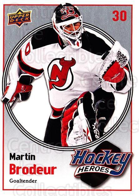 2009-10 Upper Deck Hockey Heroes Martin Brodeur #13 Martin Brodeur<br/>5 In Stock - $2.00 each - <a href=https://centericecollectibles.foxycart.com/cart?name=2009-10%20Upper%20Deck%20Hockey%20Heroes%20Martin%20Brodeur%20%2313%20Martin%20Brodeur...&quantity_max=5&price=$2.00&code=239197 class=foxycart> Buy it now! </a>