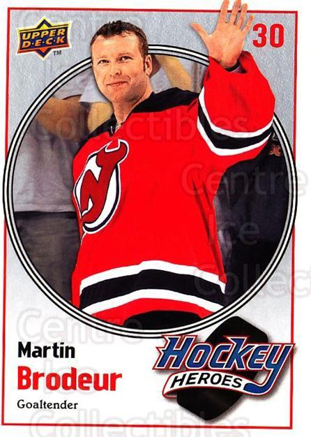 2009-10 Upper Deck Hockey Heroes Martin Brodeur #17 Martin Brodeur<br/>5 In Stock - $2.00 each - <a href=https://centericecollectibles.foxycart.com/cart?name=2009-10%20Upper%20Deck%20Hockey%20Heroes%20Martin%20Brodeur%20%2317%20Martin%20Brodeur...&quantity_max=5&price=$2.00&code=239201 class=foxycart> Buy it now! </a>
