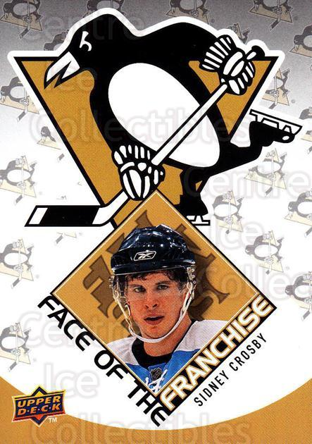 2009-10 Upper Deck Face of the Franchise #1 Sidney Crosby<br/>2 In Stock - $5.00 each - <a href=https://centericecollectibles.foxycart.com/cart?name=2009-10%20Upper%20Deck%20Face%20of%20the%20Franchise%20%231%20Sidney%20Crosby...&quantity_max=2&price=$5.00&code=239232 class=foxycart> Buy it now! </a>