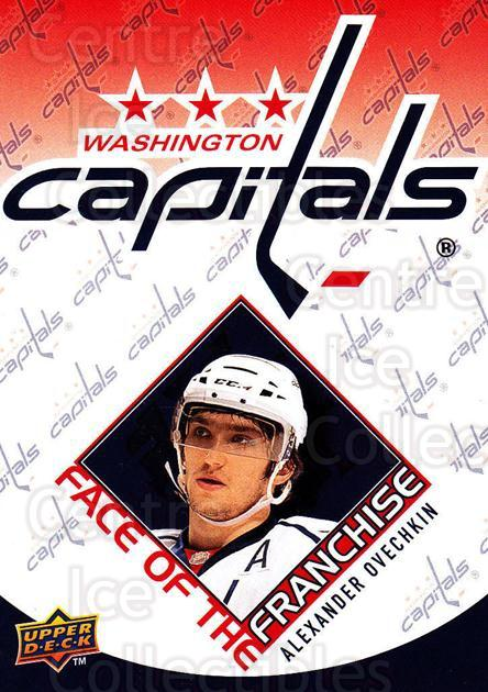 2009-10 Upper Deck Face of the Franchise #2 Alexander Ovechkin<br/>2 In Stock - $3.00 each - <a href=https://centericecollectibles.foxycart.com/cart?name=2009-10%20Upper%20Deck%20Face%20of%20the%20Franchise%20%232%20Alexander%20Ovech...&price=$3.00&code=239233 class=foxycart> Buy it now! </a>