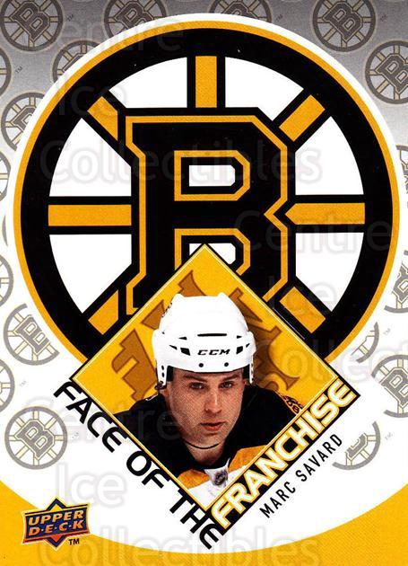 2009-10 Upper Deck Face of the Franchise #6 Marc Savard<br/>2 In Stock - $2.00 each - <a href=https://centericecollectibles.foxycart.com/cart?name=2009-10%20Upper%20Deck%20Face%20of%20the%20Franchise%20%236%20Marc%20Savard...&quantity_max=2&price=$2.00&code=239237 class=foxycart> Buy it now! </a>