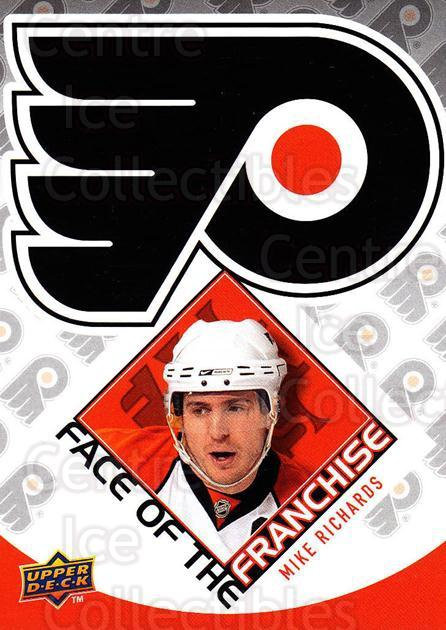 2009-10 Upper Deck Face of the Franchise #9 Mike Richards<br/>2 In Stock - $2.00 each - <a href=https://centericecollectibles.foxycart.com/cart?name=2009-10%20Upper%20Deck%20Face%20of%20the%20Franchise%20%239%20Mike%20Richards...&quantity_max=2&price=$2.00&code=239240 class=foxycart> Buy it now! </a>