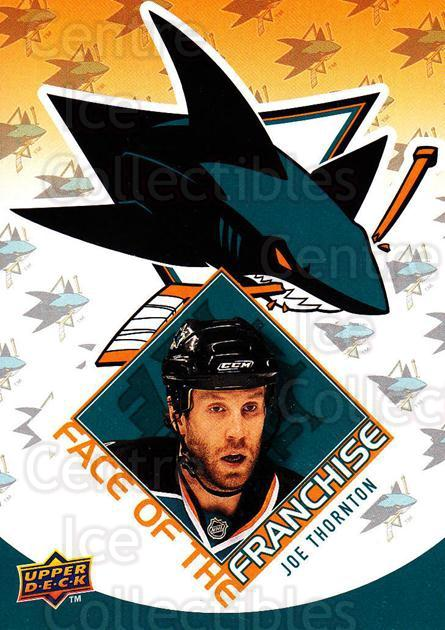 2009-10 Upper Deck Face of the Franchise #13 Joe Thornton<br/>2 In Stock - $2.00 each - <a href=https://centericecollectibles.foxycart.com/cart?name=2009-10%20Upper%20Deck%20Face%20of%20the%20Franchise%20%2313%20Joe%20Thornton...&quantity_max=2&price=$2.00&code=239244 class=foxycart> Buy it now! </a>