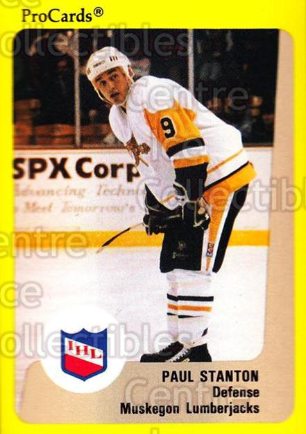 1989-90 ProCards IHL #156 Paul Stanton<br/>3 In Stock - $2.00 each - <a href=https://centericecollectibles.foxycart.com/cart?name=1989-90%20ProCards%20IHL%20%23156%20Paul%20Stanton...&quantity_max=3&price=$2.00&code=239327 class=foxycart> Buy it now! </a>