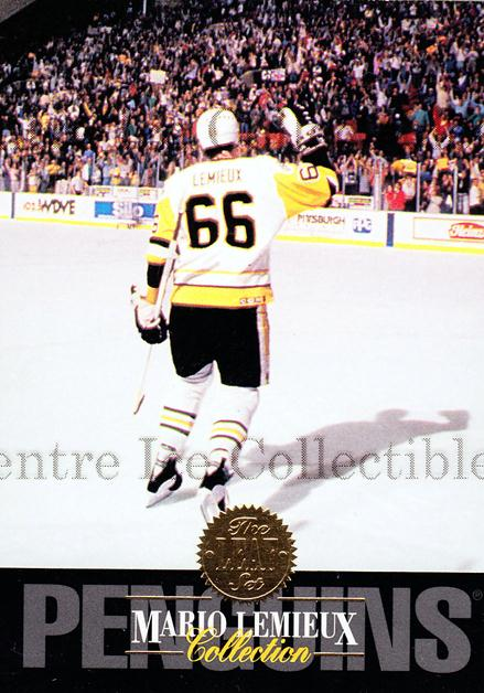 1993-94 Leaf Mario Lemieux #10 Mario Lemieux<br/>1 In Stock - $2.00 each - <a href=https://centericecollectibles.foxycart.com/cart?name=1993-94%20Leaf%20Mario%20Lemieux%20%2310%20Mario%20Lemieux...&price=$2.00&code=239334 class=foxycart> Buy it now! </a>