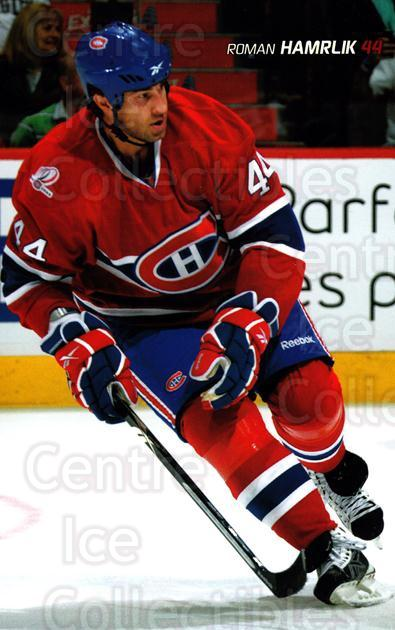 2009-10 Montreal Canadiens Postcards #11 Roman Hamrlik<br/>3 In Stock - $3.00 each - <a href=https://centericecollectibles.foxycart.com/cart?name=2009-10%20Montreal%20Canadiens%20Postcards%20%2311%20Roman%20Hamrlik...&quantity_max=3&price=$3.00&code=239523 class=foxycart> Buy it now! </a>