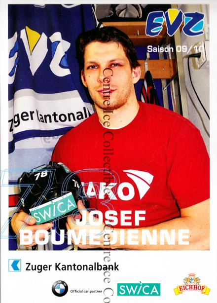 2009-10 Swiss EV Zug Postcards #1 Josef Boumedienne<br/>7 In Stock - $3.00 each - <a href=https://centericecollectibles.foxycart.com/cart?name=2009-10%20Swiss%20EV%20Zug%20Postcards%20%231%20Josef%20Boumedien...&quantity_max=7&price=$3.00&code=239930 class=foxycart> Buy it now! </a>