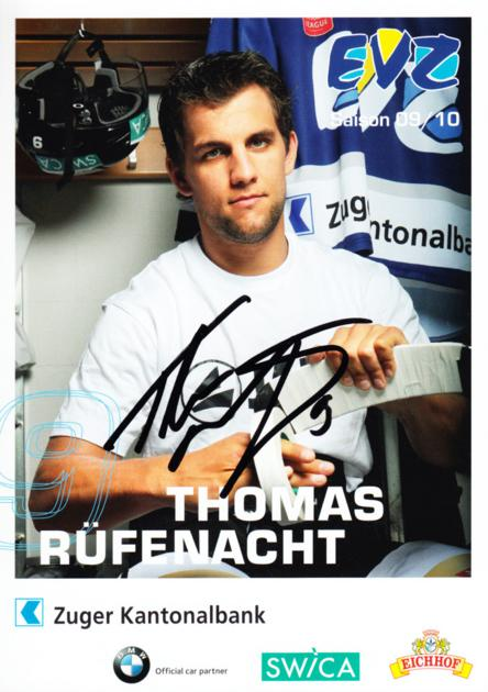 2009-10 Swiss EV Zug Postcards #2 Thomas Rufenacht<br/>2 In Stock - $3.00 each - <a href=https://centericecollectibles.foxycart.com/cart?name=2009-10%20Swiss%20EV%20Zug%20Postcards%20%232%20Thomas%20Rufenach...&quantity_max=2&price=$3.00&code=239931 class=foxycart> Buy it now! </a>