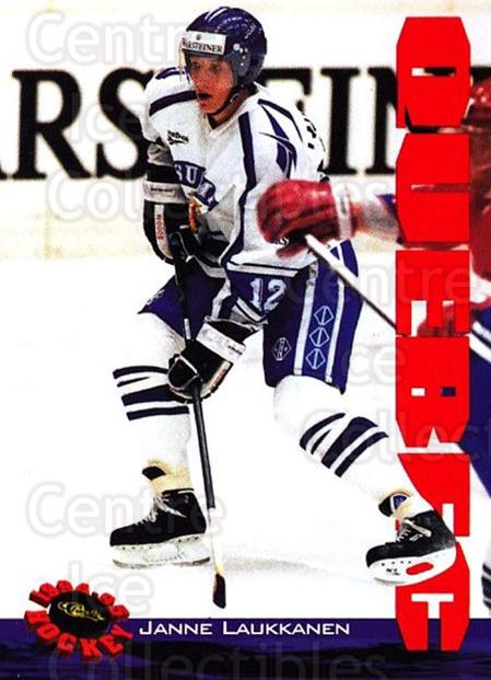 1994 Classic Hockey #102 Janne Laukkanen<br/>12 In Stock - $1.00 each - <a href=https://centericecollectibles.foxycart.com/cart?name=1994%20Classic%20Hockey%20%23102%20Janne%20Laukkanen...&quantity_max=12&price=$1.00&code=2399 class=foxycart> Buy it now! </a>