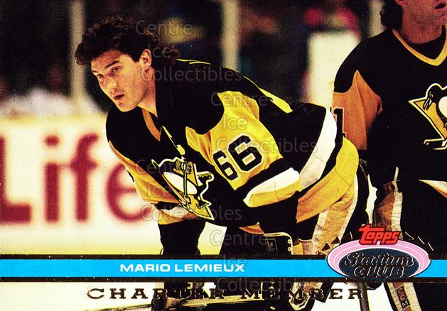 1991 Stadium Club Charter Member #9 Mario Lemieux<br/>33 In Stock - $3.00 each - <a href=https://centericecollectibles.foxycart.com/cart?name=1991%20Stadium%20Club%20Charter%20Member%20%239%20Mario%20Lemieux...&price=$3.00&code=240113 class=foxycart> Buy it now! </a>