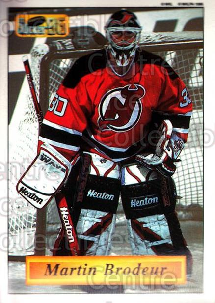 1995-96 Imperial Stickers #70 Martin Brodeur<br/>4 In Stock - $2.00 each - <a href=https://centericecollectibles.foxycart.com/cart?name=1995-96%20Imperial%20Stickers%20%2370%20Martin%20Brodeur...&price=$2.00&code=240122 class=foxycart> Buy it now! </a>