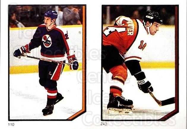 1986-87 O-Pee-Chee Stickers #110-243 Thomas Steen, Ron Sutter<br/>5 In Stock - $2.00 each - <a href=https://centericecollectibles.foxycart.com/cart?name=1986-87%20O-Pee-Chee%20Stickers%20%23110-243%20Thomas%20Steen,%20R...&quantity_max=5&price=$2.00&code=24012 class=foxycart> Buy it now! </a>