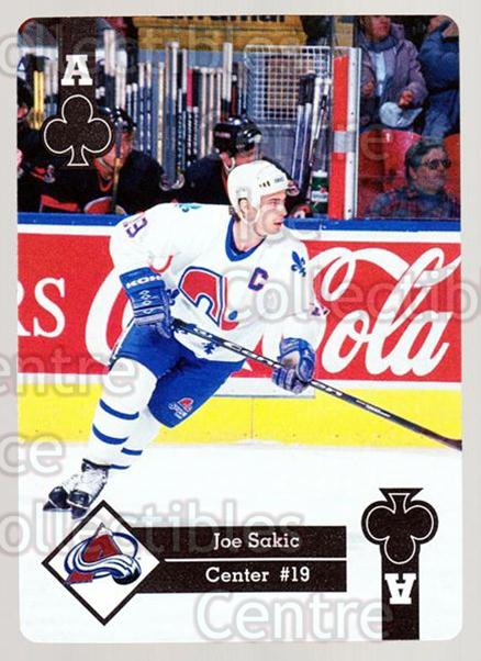 1995-96 Hoyle Eastern Playing Card #14 Joe Sakic<br/>2 In Stock - $2.00 each - <a href=https://centericecollectibles.foxycart.com/cart?name=1995-96%20Hoyle%20Eastern%20Playing%20Card%20%2314%20Joe%20Sakic...&price=$2.00&code=240140 class=foxycart> Buy it now! </a>