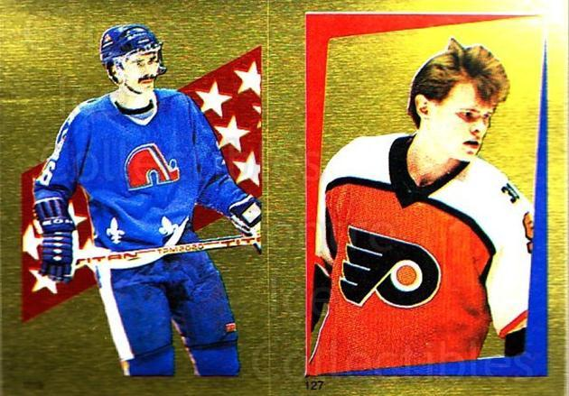 1986-87 O-Pee-Chee Stickers #113-127 Michel Goulet, Per-Erik Eklund<br/>1 In Stock - $2.00 each - <a href=https://centericecollectibles.foxycart.com/cart?name=1986-87%20O-Pee-Chee%20Stickers%20%23113-127%20Michel%20Goulet,%20...&quantity_max=1&price=$2.00&code=24014 class=foxycart> Buy it now! </a>