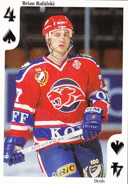 1999-00 Finnish Cardset Aces High Playing Card #29 Brian Rafalski<br/>16 In Stock - $2.00 each - <a href=https://centericecollectibles.foxycart.com/cart?name=1999-00%20Finnish%20Cardset%20Aces%20High%20Playing%20Card%20%2329%20Brian%20Rafalski...&quantity_max=16&price=$2.00&code=240188 class=foxycart> Buy it now! </a>