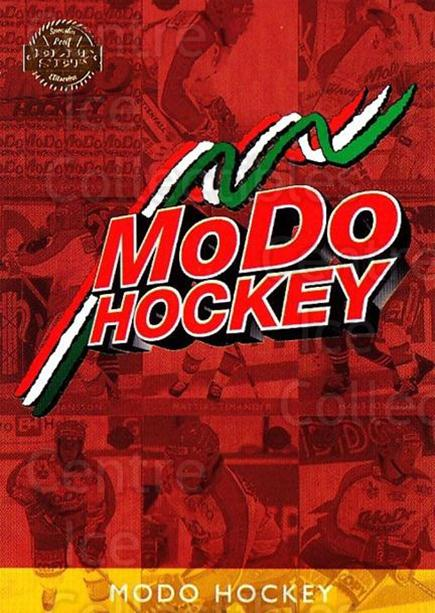 1995-96 Swedish Leaf #269 Modo Hockey, Checklist<br/>2 In Stock - $2.00 each - <a href=https://centericecollectibles.foxycart.com/cart?name=1995-96%20Swedish%20Leaf%20%23269%20Modo%20Hockey,%20Ch...&quantity_max=2&price=$2.00&code=240275 class=foxycart> Buy it now! </a>