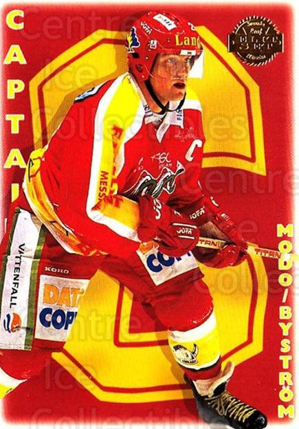 1995-96 Swedish Leaf #270 Modo Hockey, Team Photo, Lars Bystrom<br/>2 In Stock - $2.00 each - <a href=https://centericecollectibles.foxycart.com/cart?name=1995-96%20Swedish%20Leaf%20%23270%20Modo%20Hockey,%20Te...&quantity_max=2&price=$2.00&code=240276 class=foxycart> Buy it now! </a>