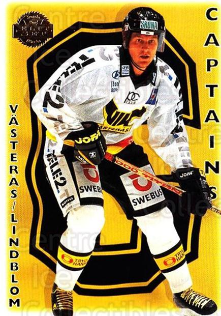 1995-96 Swedish Leaf #290 VIK Vasteras HK, Team Photo, Claes Lindblom<br/>2 In Stock - $2.00 each - <a href=https://centericecollectibles.foxycart.com/cart?name=1995-96%20Swedish%20Leaf%20%23290%20VIK%20Vasteras%20HK...&quantity_max=2&price=$2.00&code=240292 class=foxycart> Buy it now! </a>