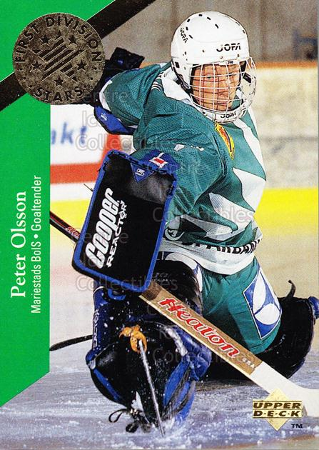 1995-96 Swedish Upper Deck 1st Division Stars #19 Peter Olsson<br/>3 In Stock - $2.00 each - <a href=https://centericecollectibles.foxycart.com/cart?name=1995-96%20Swedish%20Upper%20Deck%201st%20Division%20Stars%20%2319%20Peter%20Olsson...&quantity_max=3&price=$2.00&code=240324 class=foxycart> Buy it now! </a>