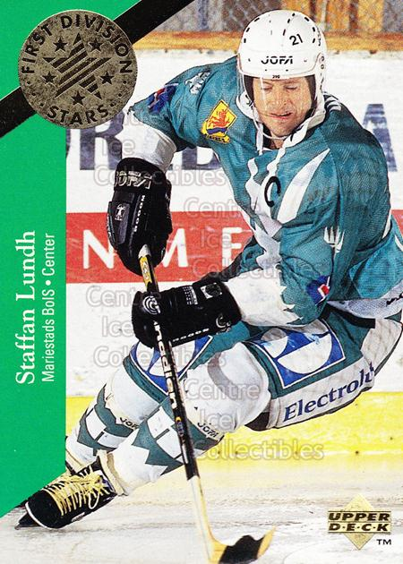 1995-96 Swedish Upper Deck 1st Division Stars #20 Staffan Lundh<br/>6 In Stock - $2.00 each - <a href=https://centericecollectibles.foxycart.com/cart?name=1995-96%20Swedish%20Upper%20Deck%201st%20Division%20Stars%20%2320%20Staffan%20Lundh...&quantity_max=6&price=$2.00&code=240325 class=foxycart> Buy it now! </a>