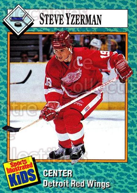 1989-91 Sports Illustrated for Kids #25 Steve Yzerman<br/>9 In Stock - $3.00 each - <a href=https://centericecollectibles.foxycart.com/cart?name=1989-91%20Sports%20Illustrated%20for%20Kids%20%2325%20Steve%20Yzerman...&price=$3.00&code=241083 class=foxycart> Buy it now! </a>