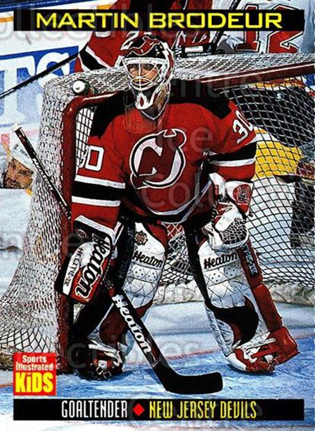 1992-00 Sports Illustrated for Kids #767 Martin Brodeur<br/>2 In Stock - $3.00 each - <a href=https://centericecollectibles.foxycart.com/cart?name=1992-00%20Sports%20Illustrated%20for%20Kids%20%23767%20Martin%20Brodeur...&price=$3.00&code=241100 class=foxycart> Buy it now! </a>