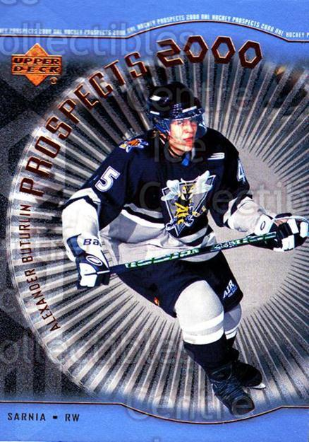 1999-00 Upper Deck #322 Alexander Buturlin<br/>1 In Stock - $3.00 each - <a href=https://centericecollectibles.foxycart.com/cart?name=1999-00%20Upper%20Deck%20%23322%20Alexander%20Butur...&price=$3.00&code=241120 class=foxycart> Buy it now! </a>