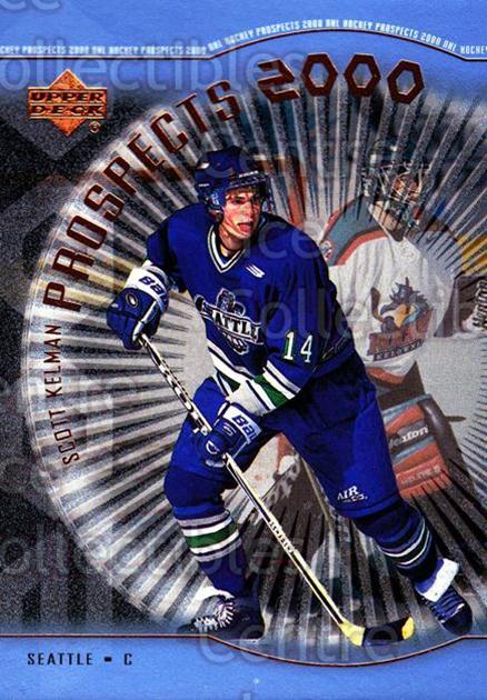 1999-00 Upper Deck #325 Scott Kelman<br/>2 In Stock - $3.00 each - <a href=https://centericecollectibles.foxycart.com/cart?name=1999-00%20Upper%20Deck%20%23325%20Scott%20Kelman...&price=$3.00&code=241121 class=foxycart> Buy it now! </a>