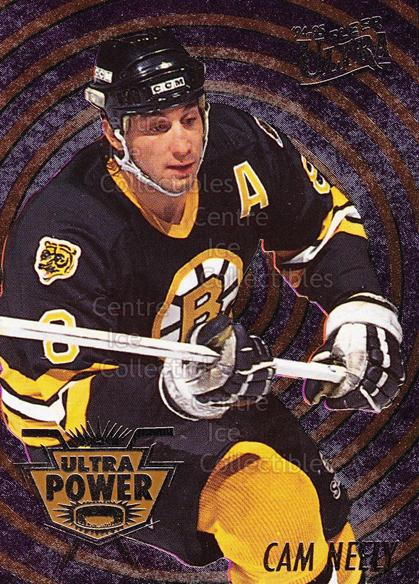 1994-95 Ultra Power #6 Cam Neely<br/>1 In Stock - $3.00 each - <a href=https://centericecollectibles.foxycart.com/cart?name=1994-95%20Ultra%20Power%20%236%20Cam%20Neely...&quantity_max=1&price=$3.00&code=241131 class=foxycart> Buy it now! </a>