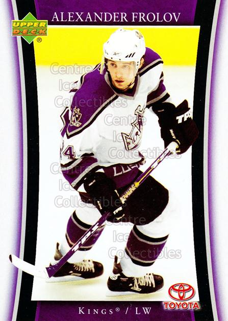 2005-06 Los Angeles Kings #4 Alexander Frolov<br/>13 In Stock - $3.00 each - <a href=https://centericecollectibles.foxycart.com/cart?name=2005-06%20Los%20Angeles%20Kings%20%234%20Alexander%20Frolo...&quantity_max=13&price=$3.00&code=241155 class=foxycart> Buy it now! </a>