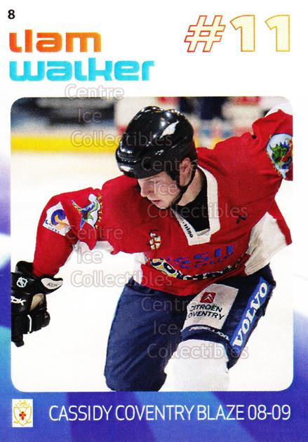 2008-09 UK British Elite Coventry Blaze #8 Liam Walker<br/>1 In Stock - $2.00 each - <a href=https://centericecollectibles.foxycart.com/cart?name=2008-09%20UK%20British%20Elite%20Coventry%20Blaze%20%238%20Liam%20Walker...&price=$2.00&code=241178 class=foxycart> Buy it now! </a>