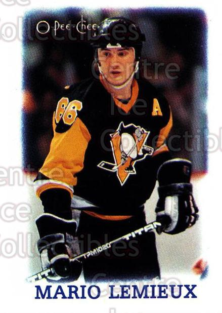 1988-89 O-Pee-Chee Minis #19 Mario Lemieux<br/>2 In Stock - $2.00 each - <a href=https://centericecollectibles.foxycart.com/cart?name=1988-89%20O-Pee-Chee%20Minis%20%2319%20Mario%20Lemieux...&price=$2.00&code=241222 class=foxycart> Buy it now! </a>
