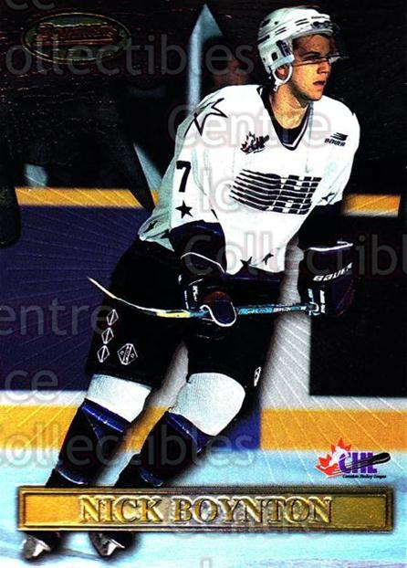 1997 Bowman CHL Bowmans Best #6 Nick Boynton<br/>3 In Stock - $2.00 each - <a href=https://centericecollectibles.foxycart.com/cart?name=1997%20Bowman%20CHL%20Bowmans%20Best%20%236%20Nick%20Boynton...&quantity_max=3&price=$2.00&code=241243 class=foxycart> Buy it now! </a>