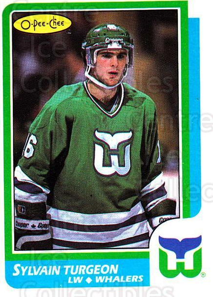 1986-87 O-Pee-Chee #103 Sylvain Turgeon<br/>5 In Stock - $1.00 each - <a href=https://centericecollectibles.foxycart.com/cart?name=1986-87%20O-Pee-Chee%20%23103%20Sylvain%20Turgeon...&quantity_max=5&price=$1.00&code=24150 class=foxycart> Buy it now! </a>