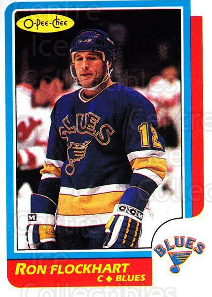 1986-87 O-Pee-Chee #146 Ron Flockhart<br/>3 In Stock - $1.00 each - <a href=https://centericecollectibles.foxycart.com/cart?name=1986-87%20O-Pee-Chee%20%23146%20Ron%20Flockhart...&quantity_max=3&price=$1.00&code=24176 class=foxycart> Buy it now! </a>