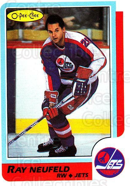 1986-87 O-Pee-Chee #177 Ray Neufeld<br/>5 In Stock - $1.00 each - <a href=https://centericecollectibles.foxycart.com/cart?name=1986-87%20O-Pee-Chee%20%23177%20Ray%20Neufeld...&quantity_max=5&price=$1.00&code=24194 class=foxycart> Buy it now! </a>