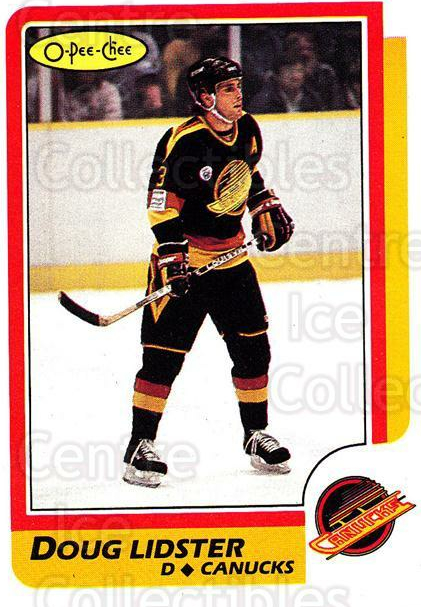1986-87 O-Pee-Chee #32 Doug Lidster<br/>4 In Stock - $1.00 each - <a href=https://centericecollectibles.foxycart.com/cart?name=1986-87%20O-Pee-Chee%20%2332%20Doug%20Lidster...&quantity_max=4&price=$1.00&code=24220 class=foxycart> Buy it now! </a>
