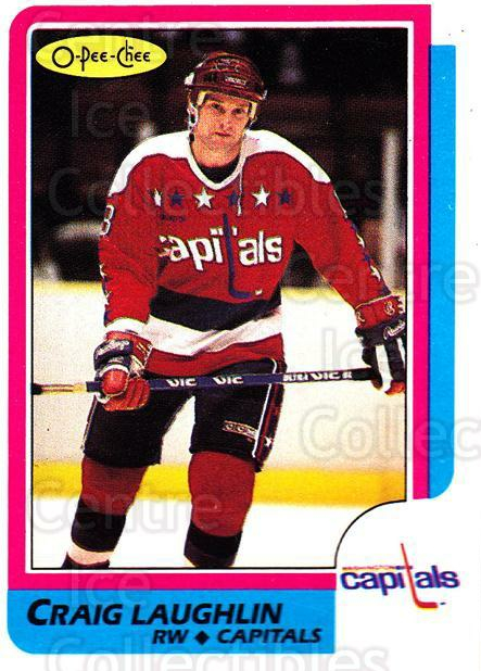 1986-87 O-Pee-Chee #35 Craig Laughlin<br/>5 In Stock - $1.00 each - <a href=https://centericecollectibles.foxycart.com/cart?name=1986-87%20O-Pee-Chee%20%2335%20Craig%20Laughlin...&quantity_max=5&price=$1.00&code=24221 class=foxycart> Buy it now! </a>