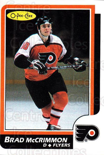 1986-87 O-Pee-Chee #5 Brad McCrimmon<br/>4 In Stock - $1.00 each - <a href=https://centericecollectibles.foxycart.com/cart?name=1986-87%20O-Pee-Chee%20%235%20Brad%20McCrimmon...&quantity_max=4&price=$1.00&code=24227 class=foxycart> Buy it now! </a>