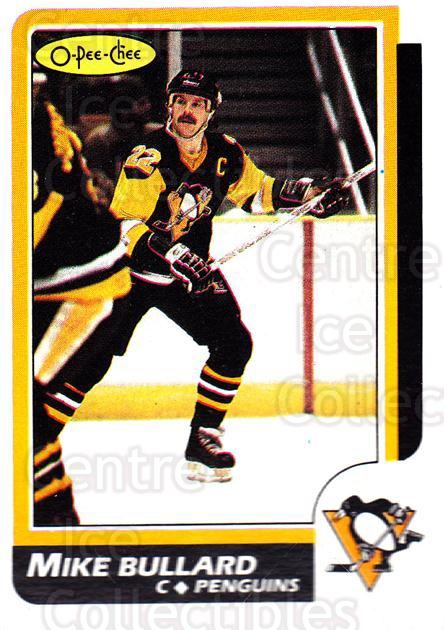 1986-87 O-Pee-Chee #83 Mike Bullard<br/>7 In Stock - $1.00 each - <a href=https://centericecollectibles.foxycart.com/cart?name=1986-87%20O-Pee-Chee%20%2383%20Mike%20Bullard...&quantity_max=7&price=$1.00&code=24241 class=foxycart> Buy it now! </a>