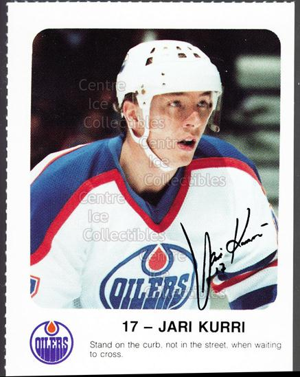 1986-87 Edmonton Oilers Red Rooster #18 Jari Kurri<br/>9 In Stock - $3.00 each - <a href=https://centericecollectibles.foxycart.com/cart?name=1986-87%20Edmonton%20Oilers%20Red%20Rooster%20%2318%20Jari%20Kurri...&quantity_max=9&price=$3.00&code=24255 class=foxycart> Buy it now! </a>