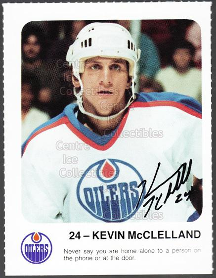 1986-87 Edmonton Oilers Red Rooster #22 Kevin McClelland<br/>11 In Stock - $3.00 each - <a href=https://centericecollectibles.foxycart.com/cart?name=1986-87%20Edmonton%20Oilers%20Red%20Rooster%20%2322%20Kevin%20McClellan...&quantity_max=11&price=$3.00&code=24260 class=foxycart> Buy it now! </a>
