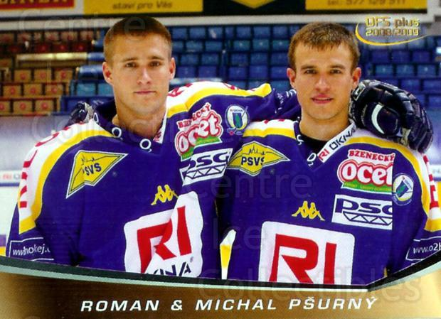 2008-09 Czech OFS Family #1 Roman Psurny, Michal Psurny<br/>2 In Stock - $2.00 each - <a href=https://centericecollectibles.foxycart.com/cart?name=2008-09%20Czech%20OFS%20Family%20%231%20Roman%20Psurny,%20M...&quantity_max=2&price=$2.00&code=243093 class=foxycart> Buy it now! </a>