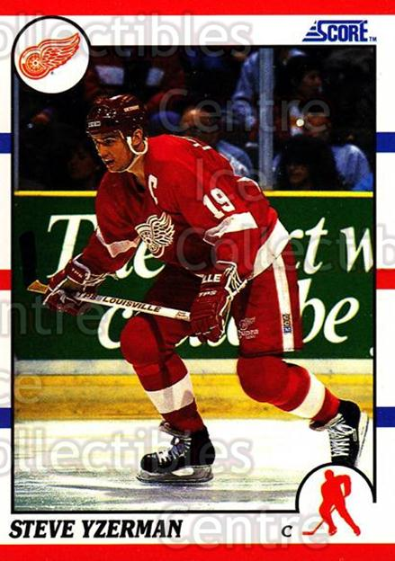1990-91 Score Hottest and Rising Stars #4 Steve Yzerman<br/>10 In Stock - $2.00 each - <a href=https://centericecollectibles.foxycart.com/cart?name=1990-91%20Score%20Hottest%20and%20Rising%20Stars%20%234%20Steve%20Yzerman...&price=$2.00&code=243222 class=foxycart> Buy it now! </a>