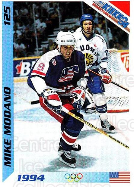 1994 Finnish Jaa Kiekko #125 Mike Modano<br/>4 In Stock - $2.00 each - <a href=https://centericecollectibles.foxycart.com/cart?name=1994%20Finnish%20Jaa%20Kiekko%20%23125%20Mike%20Modano...&quantity_max=4&price=$2.00&code=243265 class=foxycart> Buy it now! </a>