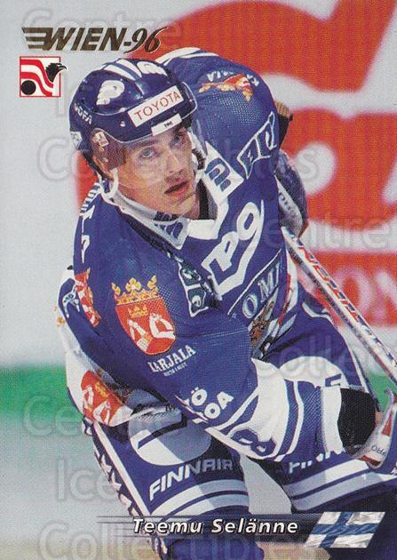 1996 Swedish Semic Wien #31 Teemu Selanne<br/>1 In Stock - $2.00 each - <a href=https://centericecollectibles.foxycart.com/cart?name=1996%20Swedish%20Semic%20Wien%20%2331%20Teemu%20Selanne...&price=$2.00&code=243280 class=foxycart> Buy it now! </a>