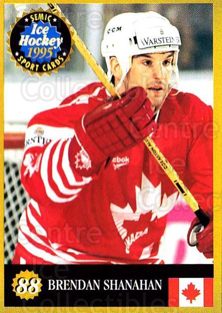 1995 Finnish Semic World Championships #88 Brendan Shanahan<br/>9 In Stock - $2.00 each - <a href=https://centericecollectibles.foxycart.com/cart?name=1995%20Finnish%20Semic%20World%20Championships%20%2388%20Brendan%20Shanaha...&quantity_max=9&price=$2.00&code=243322 class=foxycart> Buy it now! </a>